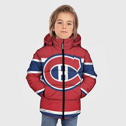 Куртка зимняя для мальчика Montreal Canadiens цвета 3D-черный — фото 2