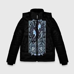 Куртка зимняя для мальчика Близнецы цвета 3D-черный — фото 1