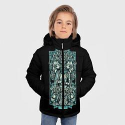 Куртка зимняя для мальчика Дева цвета 3D-черный — фото 2