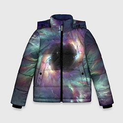 Куртка зимняя для мальчика Star light space цвета 3D-черный — фото 1