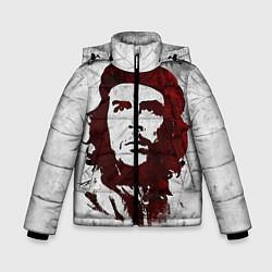 Куртка зимняя для мальчика Че Гевара цвета 3D-черный — фото 1