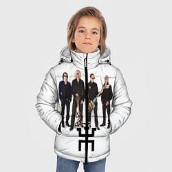 Куртка зимняя для мальчика Группа Пикник цвета 3D-черный — фото 2