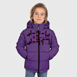 Куртка зимняя для мальчика No game no life Sora цвета 3D-черный — фото 2