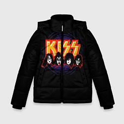 Зимняя куртка для мальчика KISS: Death Faces