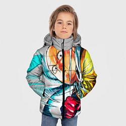 Куртка зимняя для мальчика One Punch Man Rage цвета 3D-черный — фото 2