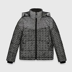 Куртка зимняя для мальчика Кольчуга цвета 3D-черный — фото 1