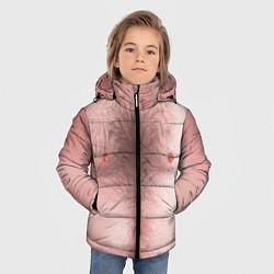 Куртка зимняя для мальчика Загорелый торс цвета 3D-черный — фото 2
