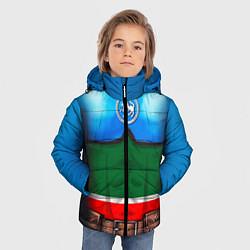 Куртка зимняя для мальчика Капитан Татарстан цвета 3D-черный — фото 2