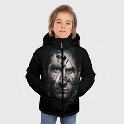 Куртка зимняя для мальчика Messi Black цвета 3D-черный — фото 2