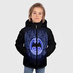 Куртка зимняя для мальчика Военная разведка цвета 3D-черный — фото 2
