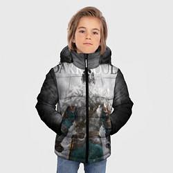 Куртка зимняя для мальчика Dark Souls: Winter цвета 3D-черный — фото 2