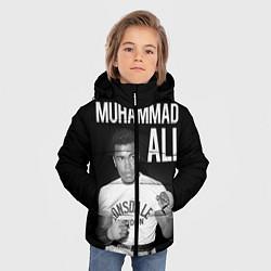 Куртка зимняя для мальчика Muhammad Ali цвета 3D-черный — фото 2