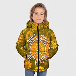 Куртка зимняя для мальчика Хиппи 4 цвета 3D-черный — фото 2