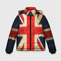 Куртка зимняя для мальчика Великобритания цвета 3D-черный — фото 1