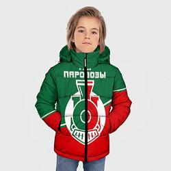 Куртка зимняя для мальчика Мы паровозы цвета 3D-черный — фото 2
