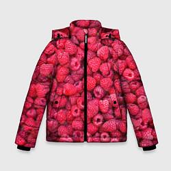 Куртка зимняя для мальчика Малинки цвета 3D-черный — фото 1
