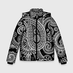 Куртка зимняя для мальчика Paisley цвета 3D-черный — фото 1