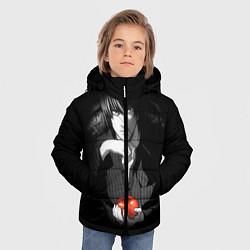 Куртка зимняя для мальчика Тетрадь смерти 4 цвета 3D-черный — фото 2
