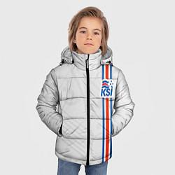 Куртка зимняя для мальчика Сборная Исландии по футболу цвета 3D-черный — фото 2