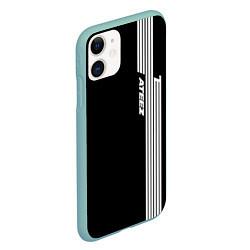 Чехол iPhone 11 матовый ATEEZ цвета 3D-мятный — фото 2