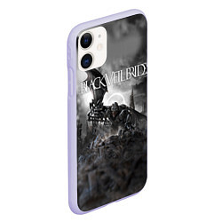 Чехол iPhone 11 матовый Black Veil Brides: Faithless цвета 3D-светло-сиреневый — фото 2