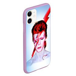 Чехол iPhone 11 матовый Aladdin sane цвета 3D-сиреневый — фото 2