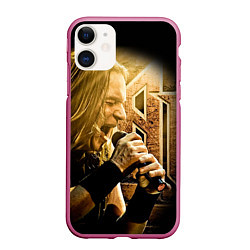 Чехол iPhone 11 матовый Кипелов: Ария