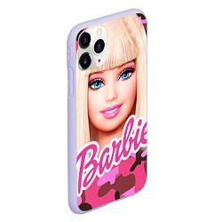 Чехол iPhone 11 Pro матовый Барби цвета 3D-светло-сиреневый — фото 2
