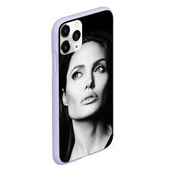 Чехол iPhone 11 Pro матовый Mono Jolie цвета 3D-светло-сиреневый — фото 2