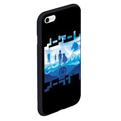 Чехол iPhone 6/6S Plus матовый No Game No Life цвета 3D-черный — фото 2