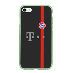 Чехол iPhone 6/6S Plus матовый Bayern FC: Black 2018 цвета 3D-салатовый — фото 1