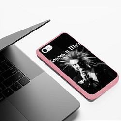 Чехол iPhone 6/6S Plus матовый Король и Шут Анархия спина цвета 3D-баблгам — фото 2