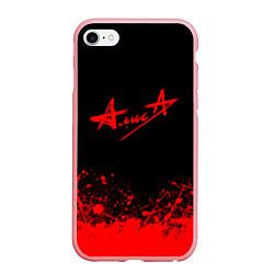 Чехол iPhone 6/6S Plus матовый АлисА на спине цвета 3D-баблгам — фото 1