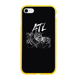 Чехол iPhone 6/6S Plus матовый ATL цвета 3D-желтый — фото 1