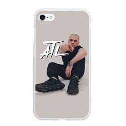 Чехол iPhone 6/6S Plus матовый ATL цвета 3D-белый — фото 1