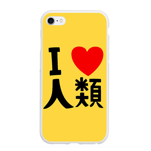 Чехол iPhone 6 Plus/6S Plus матовый No game no life Sora / 3D-Белый – фото 1