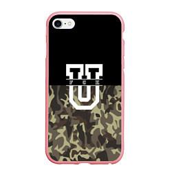 Чехол iPhone 6 Plus/6S Plus матовый FCK U: Camo