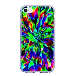 Чехол iPhone 6/6S Plus матовый Оксид красок цвета 3D-светло-сиреневый — фото 1