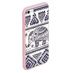 Чехол iPhone 6/6S Plus матовый Африка цвета 3D-баблгам — фото 2
