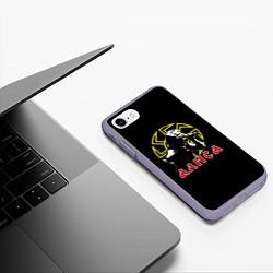 Чехол iPhone 7/8 матовый АлисА: Коловрат цвета 3D-серый — фото 2