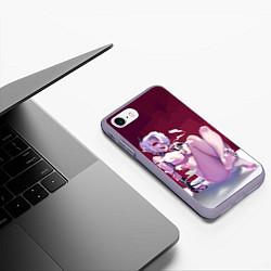 Чехол iPhone 7/8 матовый ХЕЛЛТЕЙКЕР цвета 3D-серый — фото 2