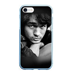 Чехол iPhone 7/8 матовый Виктор Цой