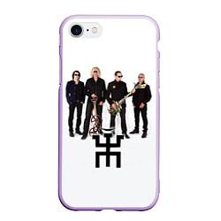 Чехол iPhone 7/8 матовый Группа Пикник