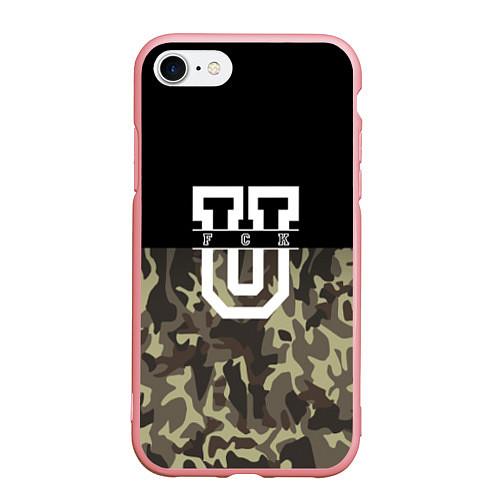 Чехол iPhone 7/8 матовый FCK U: Camo / 3D-Баблгам – фото 1
