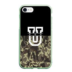 Чехол iPhone 7/8 матовый FCK U: Camo