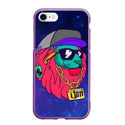 Чехол iPhone 7/8 матовый Лев SWAG