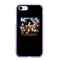 Чехол iPhone 7/8 матовый Kiss Monster