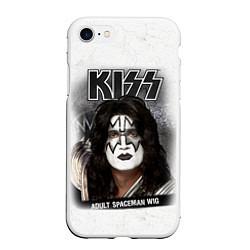 Чехол iPhone 7/8 матовый KISS: Adult spaceman wig