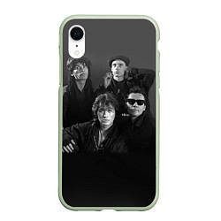 Чехол iPhone XR матовый Группа Кино