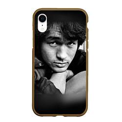 Чехол iPhone XR матовый Виктор Цой